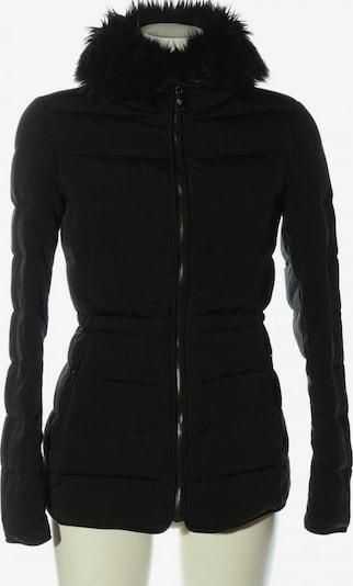 ZARA Winterjacke in S in schwarz, Produktansicht