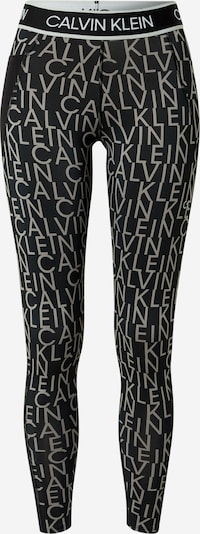Calvin Klein Performance Sports trousers in greige / black, Item view