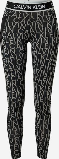 Calvin Klein Performance Спортен панталон в Грейдж / черно, Преглед на продукта
