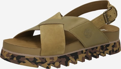 TIMBERLAND Strap sandal in Olive, Item view