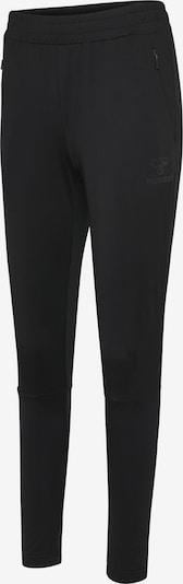 Hummel Pants in schwarz / silber, Produktansicht