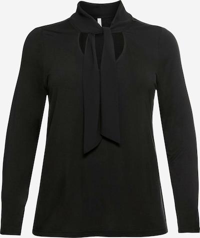 SHEEGO Shirt in schwarz, Produktansicht