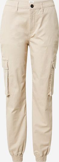 ONLY Pantalon cargo 'Tiger' en beige, Vue avec produit