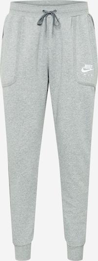 Nike Sportswear Spodnie sportowe w kolorze jasnoszary / ciemnoszary / białym, Podgląd produktu