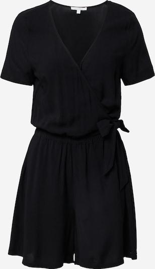 TOM TAILOR DENIM Jumpsuit in Black: Frontal view
