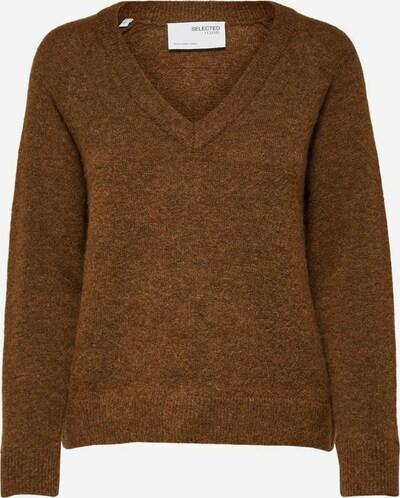 Pullover 'SLFLulu' SELECTED FEMME di colore marrone, Visualizzazione prodotti