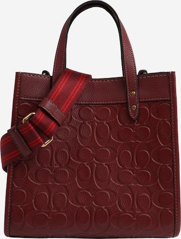 COACH Handväska i röd