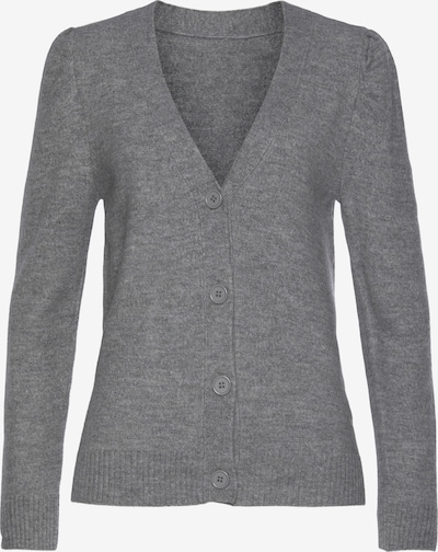 LASCANA Knit Cardigan in mottled grey, Item view