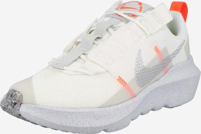 Nike Sportswear Сникърси 'Crater Impact' в светлосиво / оранжево / бяло: Изглед отпред