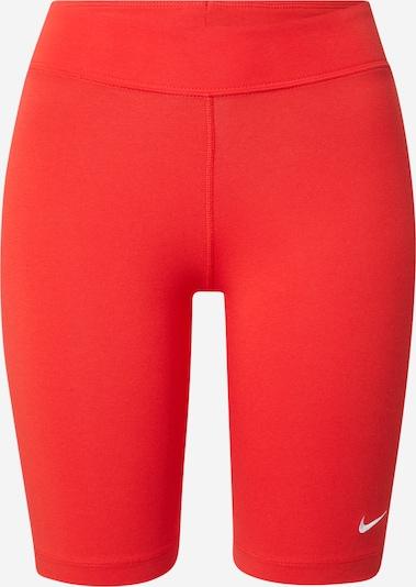 NIKE Shorts in orangerot / weiß, Produktansicht