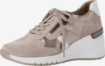 MARCO TOZZI Sneaker in Beige