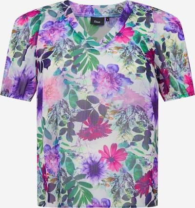 Bluză 'MLEAH' Zizzi pe lila / mai multe culori, Vizualizare produs