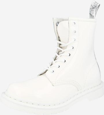 Boots 'Mono' Dr. Martens en blanc