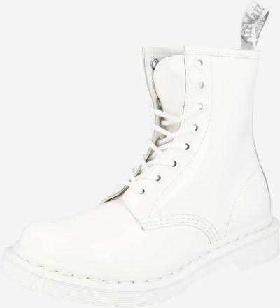 Botine 'Mono' Dr. Martens pe alb, Vizualizare produs