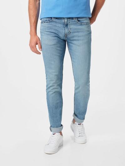 LEVI'S Jeans '512' i blå denim, På modell