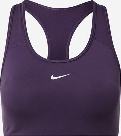 NIKE Športová podprsenka - fialová / biela, Produkt