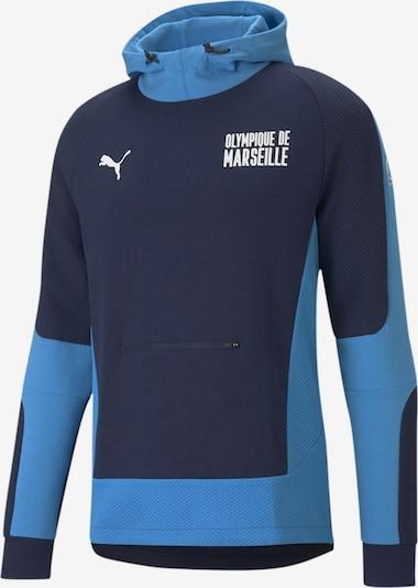 PUMA Sportsweatshirt 'OM Evostripe' in blau / marine, Produktansicht
