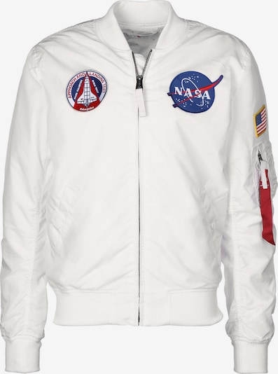 ALPHA INDUSTRIES Between-Season Jacket in natural white, Item view