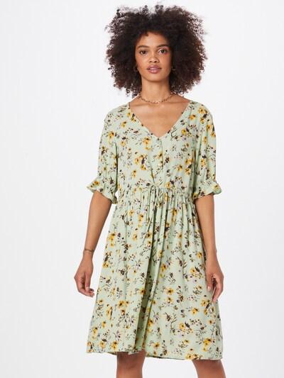 PIECES Kleid 'CARLA' in mint / mischfarben, Modelansicht