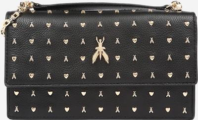 PATRIZIA PEPE Bolso de hombro 'BORSA' en oro / negro, Vista del producto
