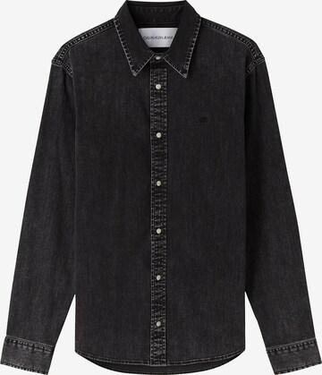Calvin Klein Jeans Hemd in Schwarz