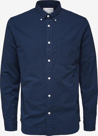 SELECTED HOMME Overhemd 'SLHREGRICK' in de kleur Donkerblauw, Productweergave