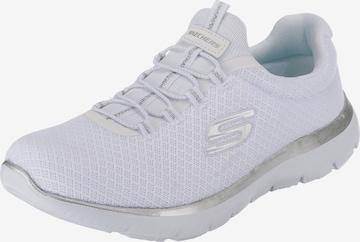 SKECHERS Låg sneaker 'SUMMITS' i vit