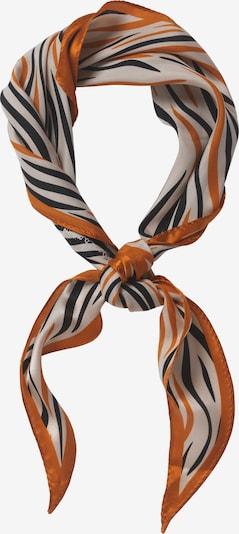 BeckSöndergaard Masque en tissu en orange / noir / blanc, Vue avec produit