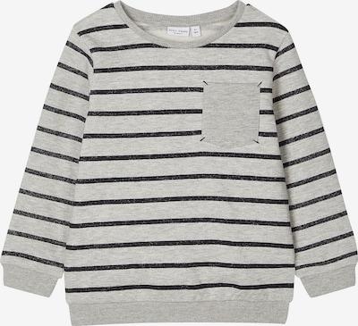 NAME IT Sweatshirt 'VANNO' in de kleur Grijs gemêleerd / Zwart, Productweergave