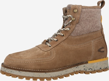 CAMEL ACTIVE Lace-Up Boots 'Pilgrim Sustainable' in Brown