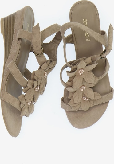 Graceland Sandaletten in 38 in taupe, Produktansicht