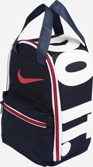 Nike Sportswear Tasche 'MULTIZIPJDIFUELPACK' in dunkelblau / rot, Produktansicht