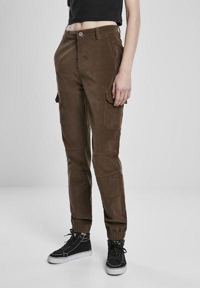 khaki Urban Classics Cargo nadrágok, Modell nézet