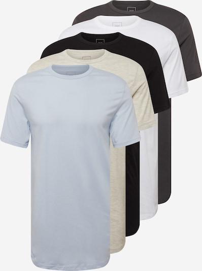 River Island Tričko - béžová melírovaná / opálová / antracitová / čierna / biela, Produkt