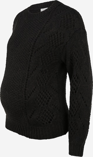 Pieces Maternity Sweater 'PENELOPE' in Black, Item view
