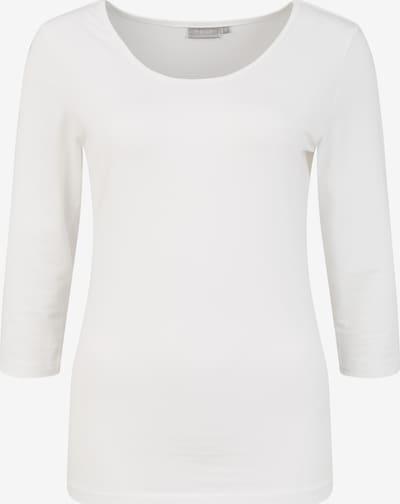 Fransa Longsleeve 'Zaganic 1' in weiß, Produktansicht