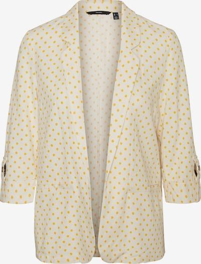 VERO MODA Blazer 'VMASTIMILO' in gelb / weiß, Produktansicht