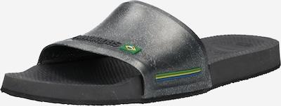 Šlepetės 'Brasil' iš HAVAIANAS, spalva – margai pilka / žalia / juoda, Prekių apžvalga