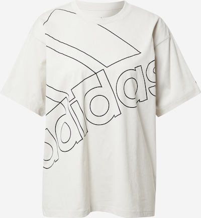 ADIDAS PERFORMANCE Funkcionalna majica   črna / bela barva, Prikaz izdelka