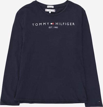 TOMMY HILFIGER Shirt in nachtblau / melone / weiß, Produktansicht