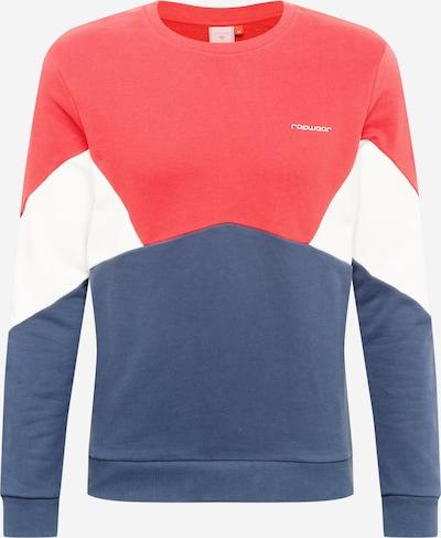 Bluză de molton 'TRIPL' Ragwear pe albastru porumbel / roșu / alb, Vizualizare produs
