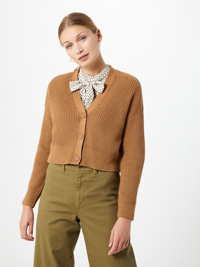 ONLY Strickjacke 'Laysla' in camel, Modelansicht