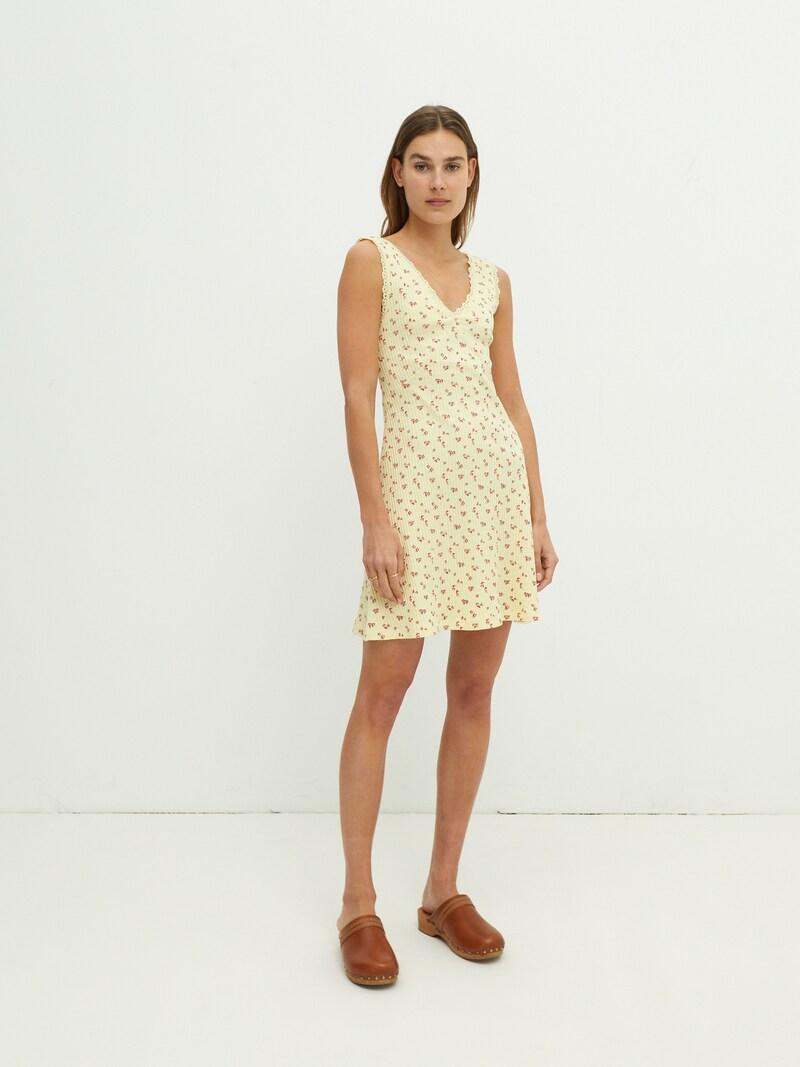 Gebreide jurk 'Ivory'