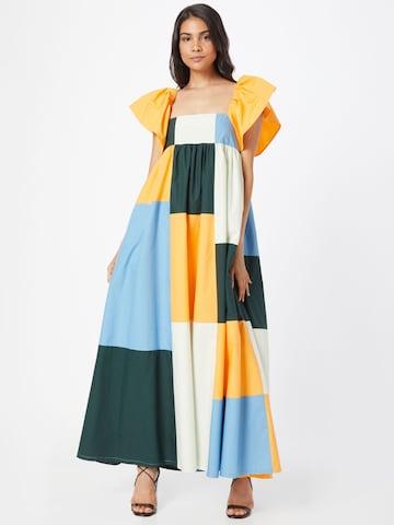 Résumé - Vestido 'Farez' en Mezcla de colores