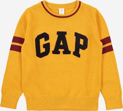 GAP Pullover in goldgelb / merlot / schwarz, Produktansicht