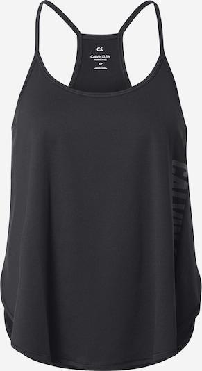 Calvin Klein Performance Športni top | črna barva, Prikaz izdelka