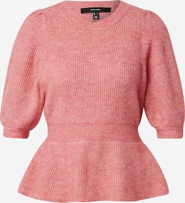 VERO MODA Pullover 'METTE' in Pink