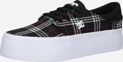 DC Shoes Sporta apavi, krāsa - sarkans / melns / balts, Preces skats