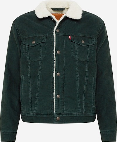 LEVI'S Jacke 'SHERPA TRUCKER' in dunkelgrün, Produktansicht