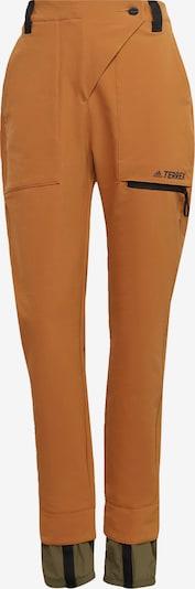 ADIDAS PERFORMANCE Hose in braun / khaki, Produktansicht